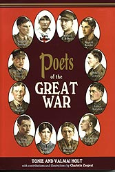 25 POETS OF THE GREAT WAR - Front Cover