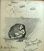 The earliest known survivor of Bruce Bairnsfather's WW1 cartoons