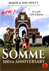 Somme Battle Guide Book known as 'The Bible'-460 pictures-alll GPS-fold out map--350 pages