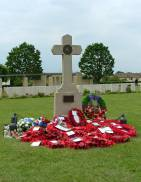 June 1944 Cross Ranville Airborne Cemetery