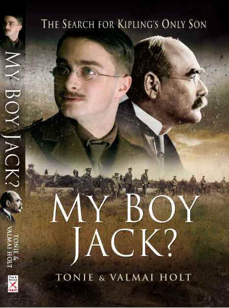 Cover picture of the biography of John Kipling.