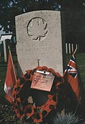 Canadian Headstone, Ypres