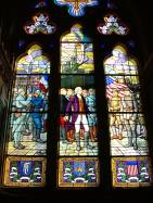 US Memorial Window Chateau Thierry Church